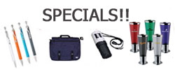 Specials on Desk Accessories/Bags/Executive Gifts